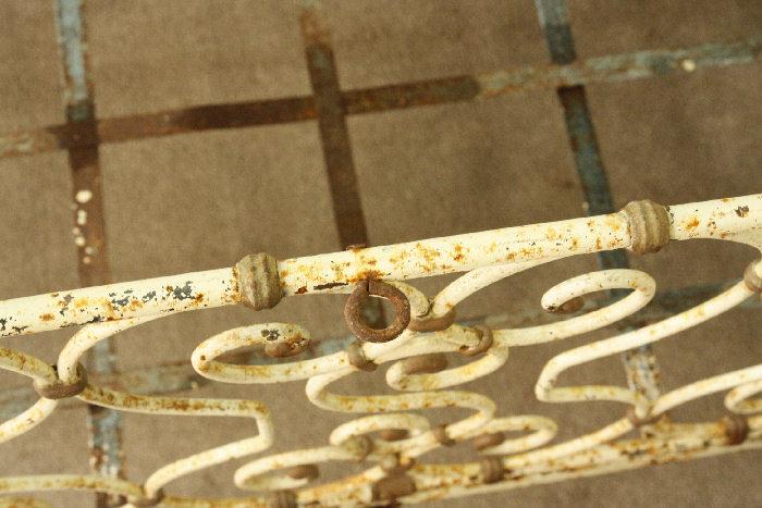 アンティークベビーベッドsok10m  画像8左側