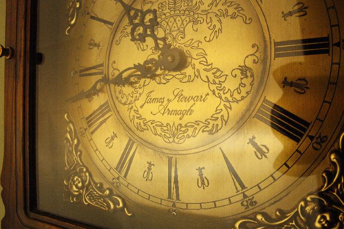 アンティーク柱時計(グランドファーザークロック)sok16m 画像6右側