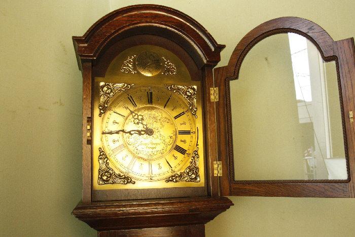 アンティーク柱時計(グランドファーザークロック)sok16m 画像7