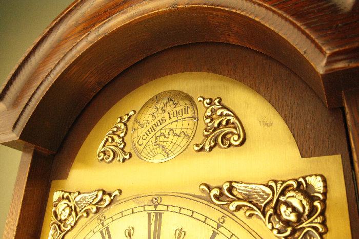 アンティーク柱時計(グランドファーザークロック)sok16m 画像9右側