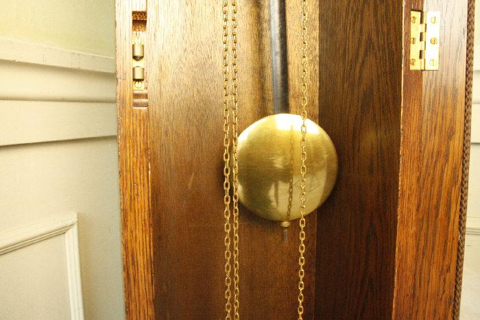 アンティーク柱時計(グランドファーザークロック)sok16m 画像12右側
