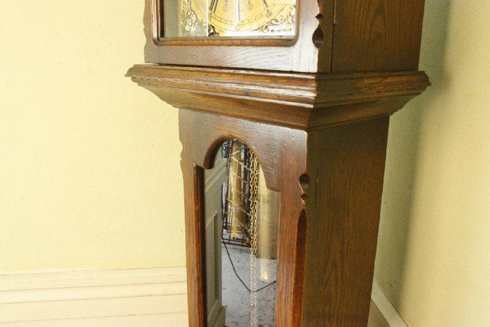 アンティーク柱時計(グランドファーザークロック)sok16m 画像13