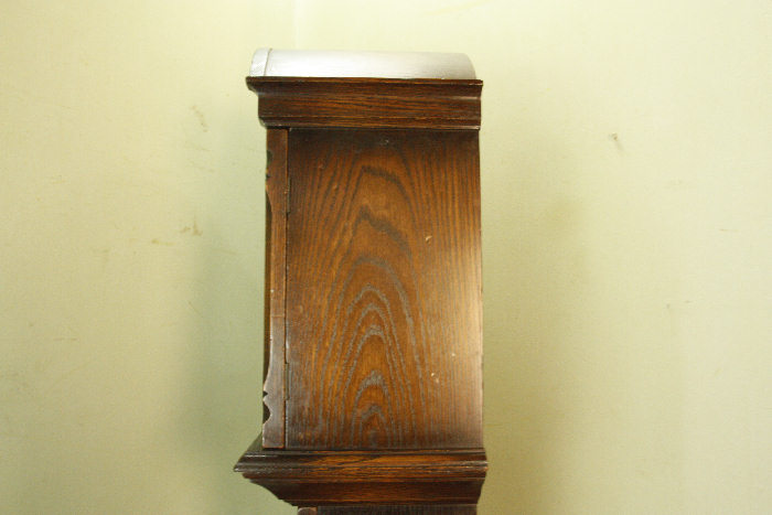 アンティーク柱時計(グランドファーザークロック)sok16m 画像17左側