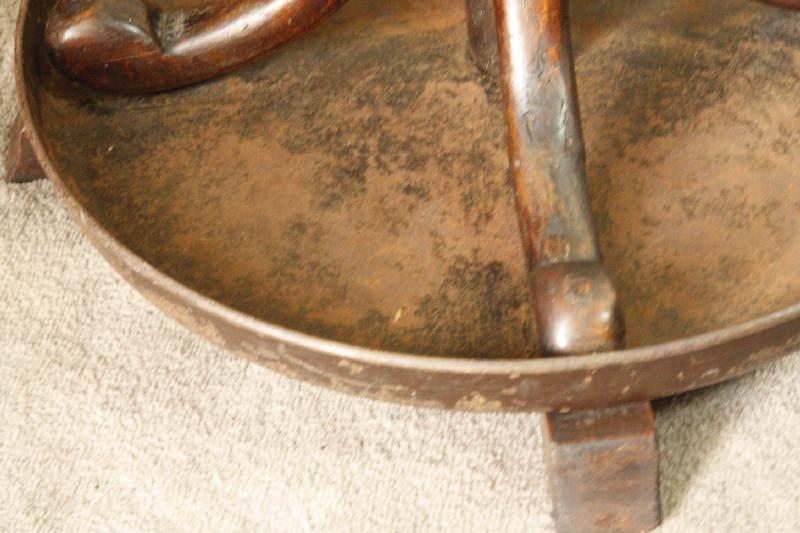 アンティークベントウッドコートハンガーsok2i画像5左側