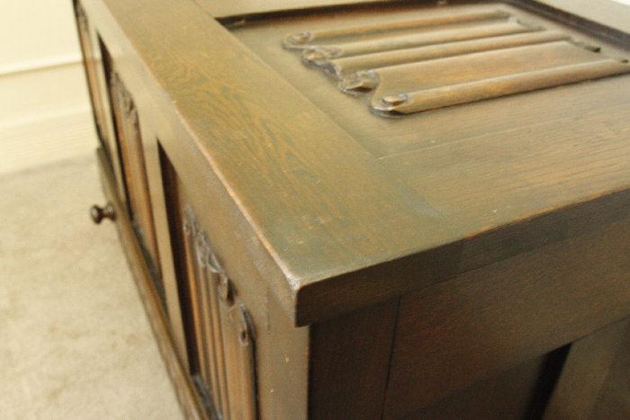 アンティークブランケットボックスsok8m画像14左側