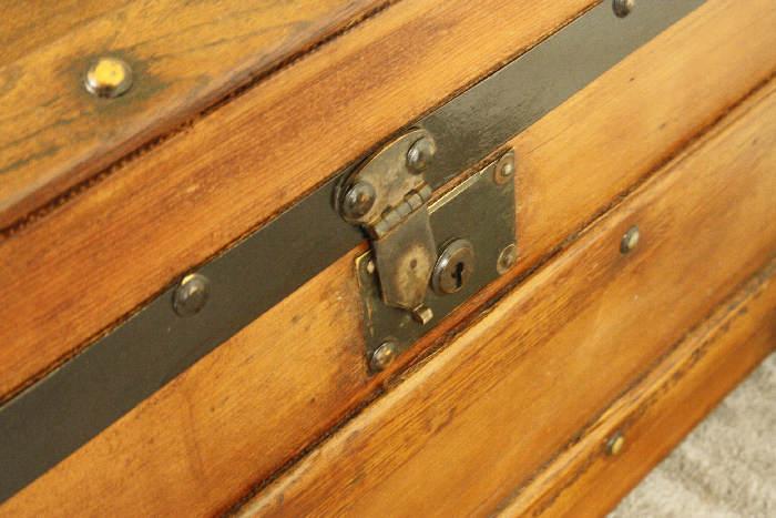 アンティークトランク(木箱)sok9i画像7