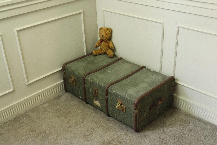 アンティークトランク(スーツケース)soz11m画像15右側