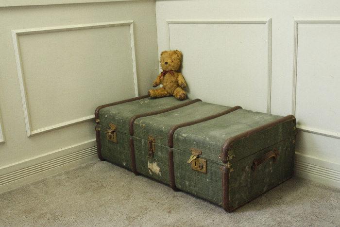アンティークトランク(スーツケース)soz11m画像1