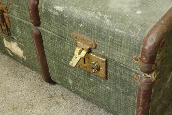 アンティークトランク(スーツケース)soz11m画像3右側