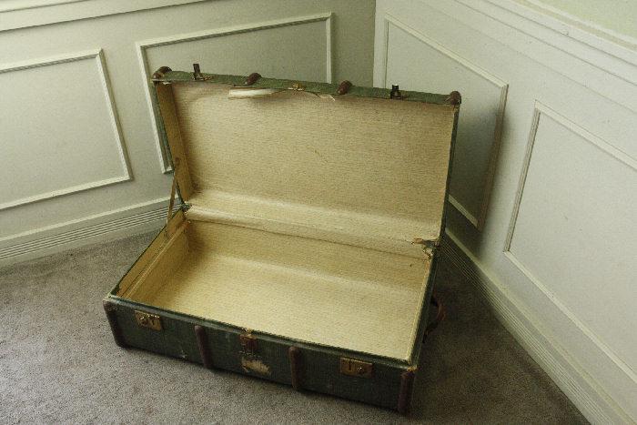 アンティークトランク(スーツケース)soz11m画像5左側