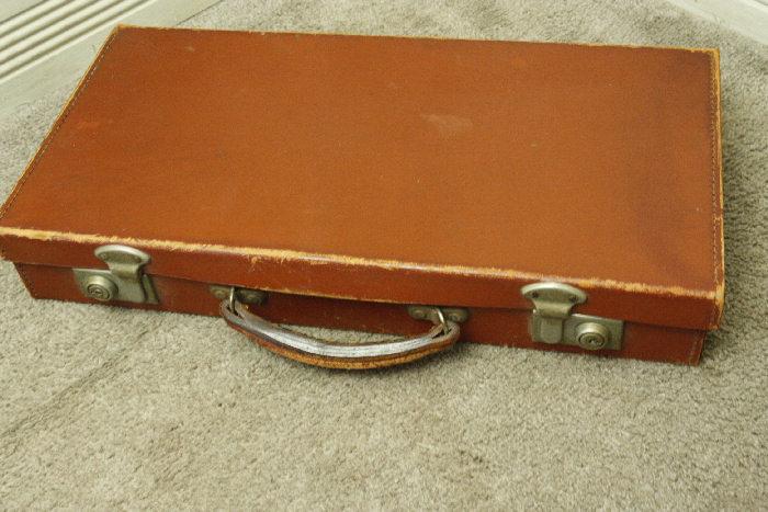 アンティークレザースーツケースsoz18m画像1