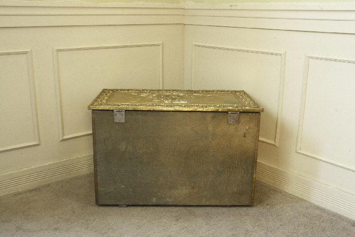 アンティークブランケットボックスsoz28m画像5左側