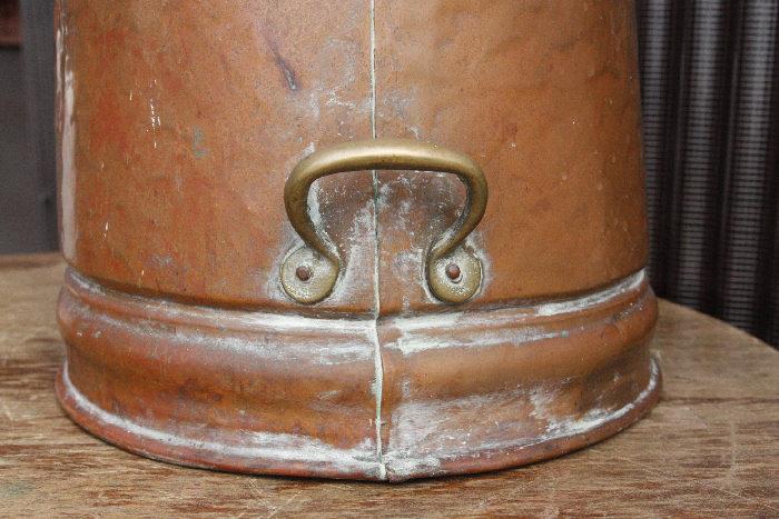 アンティークコッパーコールバケットsoz7m画像7