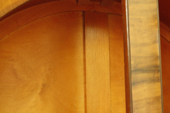 アンティークアールデコグラスキャビネットcb20k画像15右側