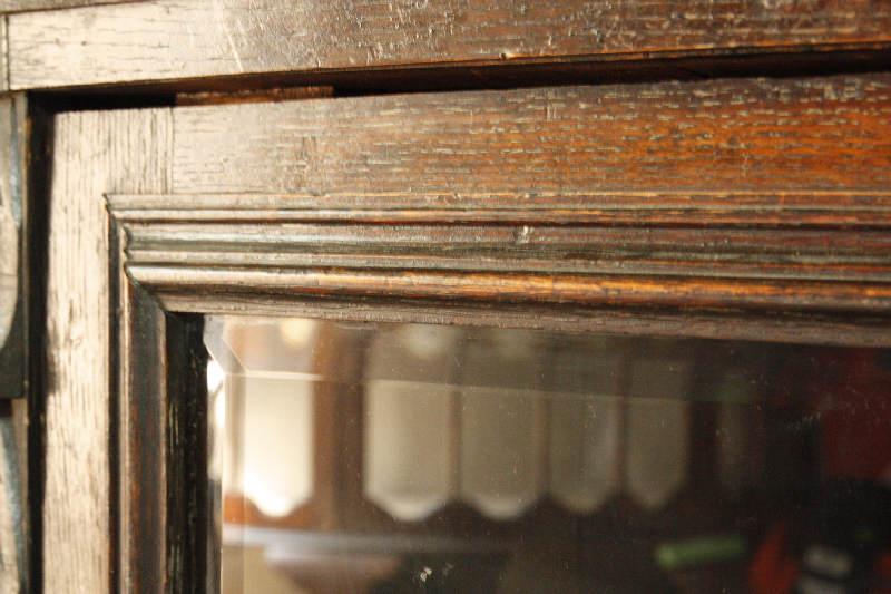 アンティークヴィクトリアンコーナーキャビネットcb25i画像9右側
