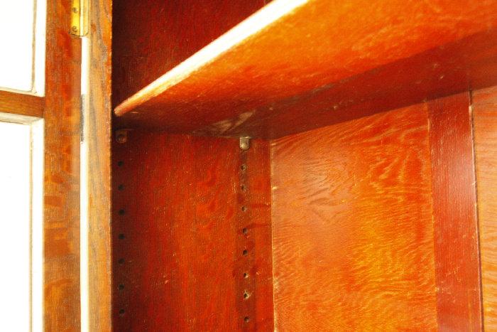 アンティークアールデコ・ブックケースcb26k 画像15右側