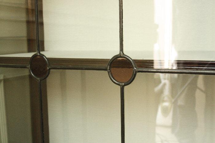 アンティークグラスキャビネットcb26m 画像6右側