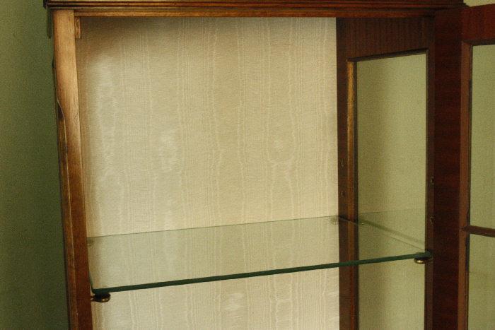 アンティークグラスキャビネットcb29m画像11左側