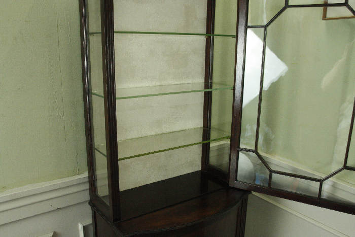 アンティークグラスキャビネットcb33i画像4