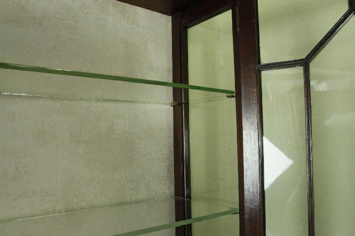 アンティークグラスキャビネットcb33i画像7