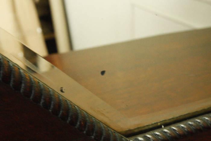 アンティークミラー付きサイドボードcb35i画像11左側