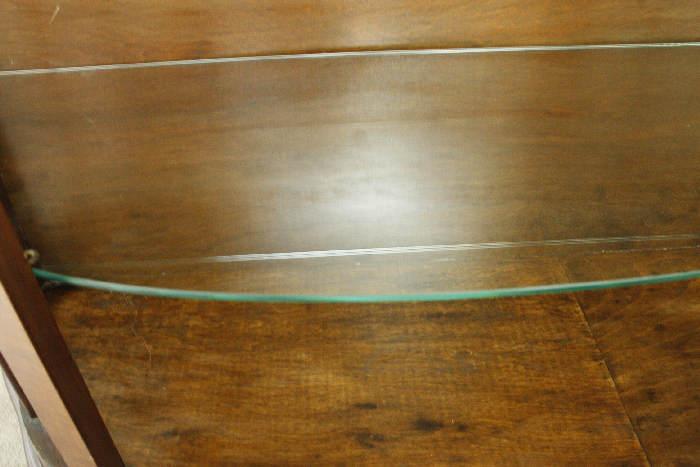 アンティークグラスキャビネットcb43i画像12右側