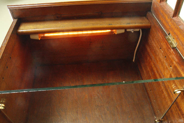 アンティークディスプレイキャビネットcb45i画像11左側