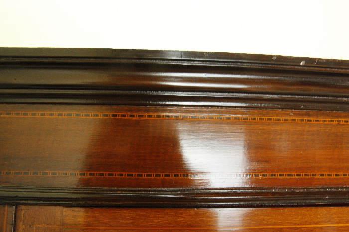 アンティークグラスキャビネットcb46i 画像4