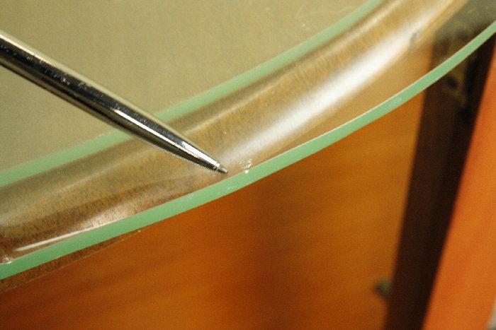 アンティークグラスキャビネットcb51i  画像15右側