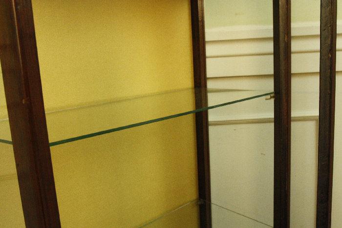 アンティークグラスキャビネットcb54k 画像12右側