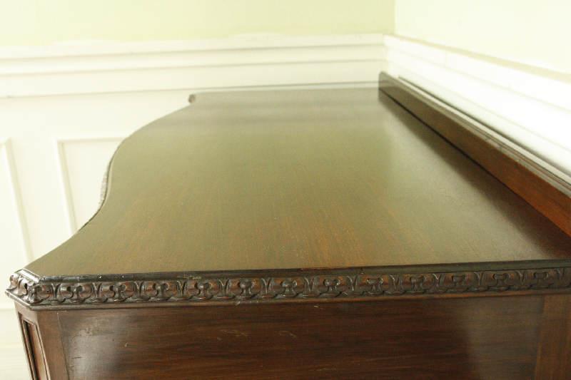 アンティークサイドテーブル(コンソールテーブル)dk6i画像6右側