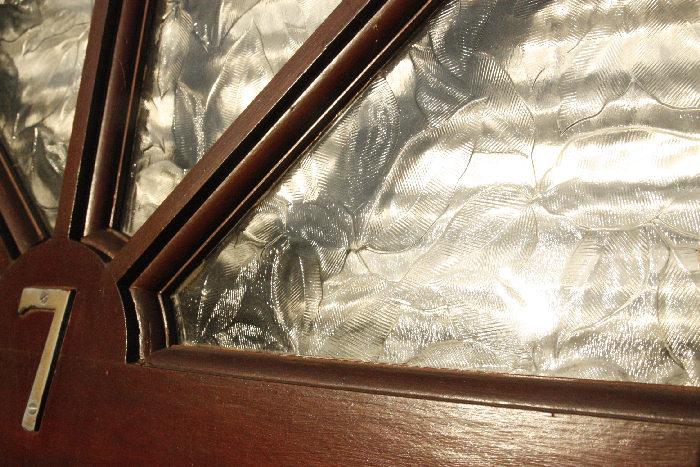 アンティークガラスドアdr25m画像5左側