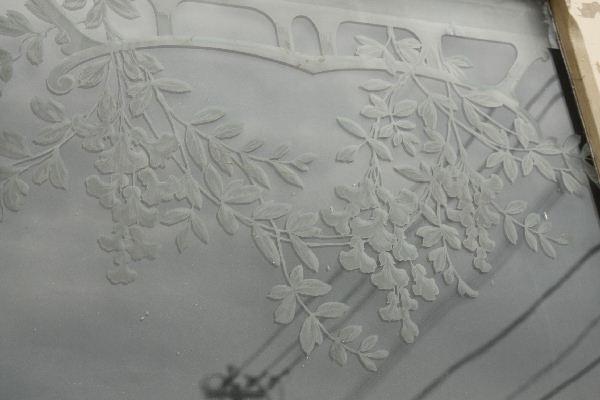 アンティークエッチングドアdr30c画像9右側