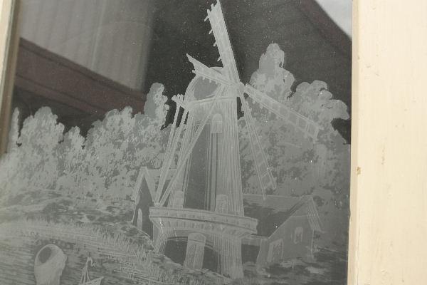 アンティークエッチングドアdr30c画像11左側