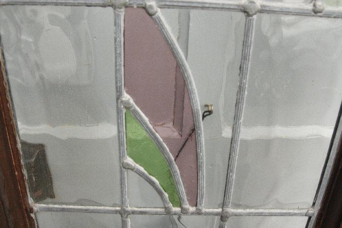 アンティークステンドグラス ドアdr31m画像6右側