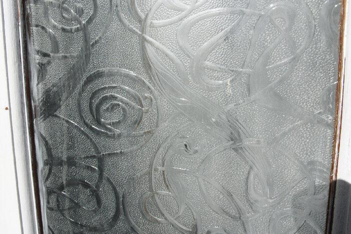 アンティークガラスドアdr7m画像1