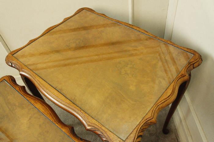 アンティークネストテーブルtb15i 画像5左側