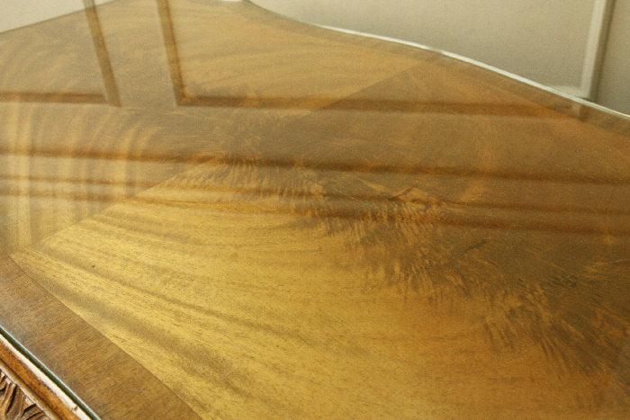 アンティークコーヒーテーブルtb16m画像14左側