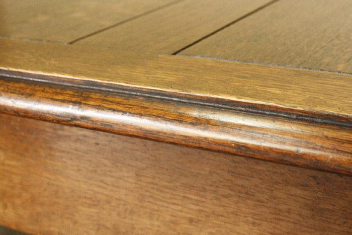 アンティークツイストレッグバタフライダイニングテーブルtb17m画像11左側