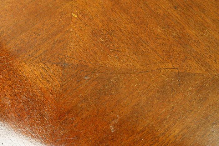 アンティークラウンドコーヒーテーブルtb19i画像8左側