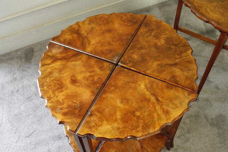 アンティークネストラウンドコーヒーテーブルtb20h2