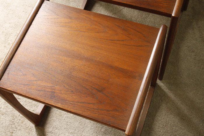 アンティークGプランネストテーブルtb22k画像11左側