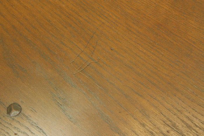 アンティークアーコールドロップリーフテーブルtb25k画像7
