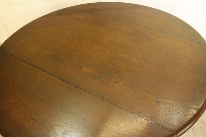 アンティークアーコールドロップリーフテーブルtb25k画像8左側