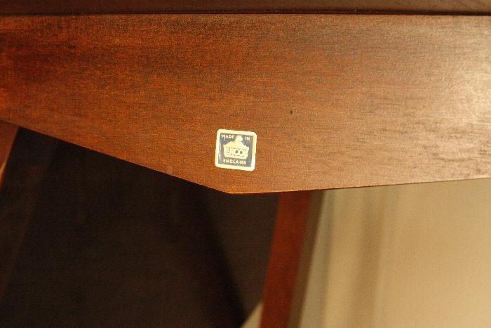 アンティークアーコールドロップリーフテーブルtb25k画像11左側