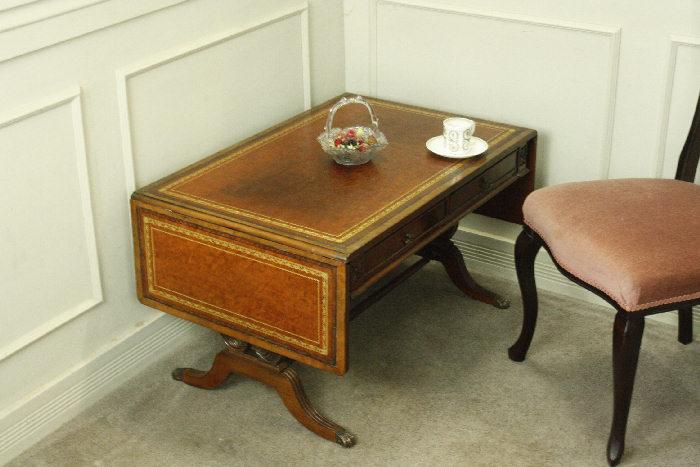 アンティークバタフライコーヒーテーブルtb30k画像1