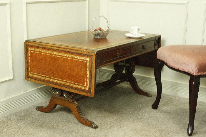 アンティークバタフライコーヒーテーブルtb30k画像2左側