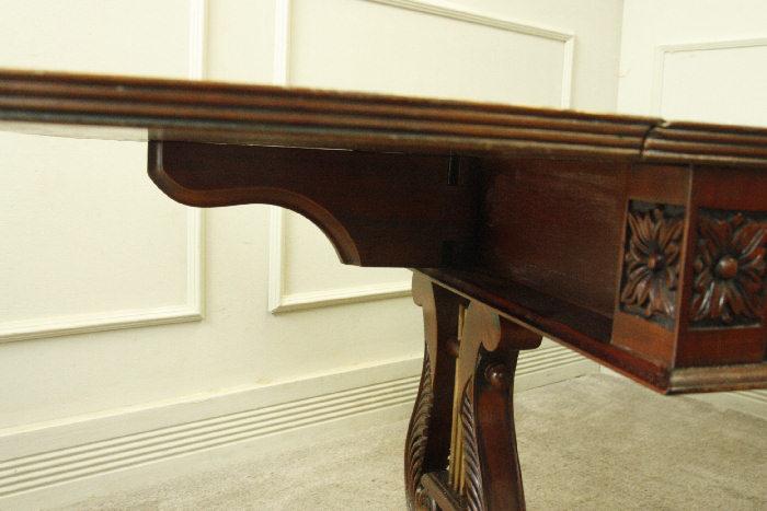 アンティークバタフライコーヒーテーブルtb30k画像14左側