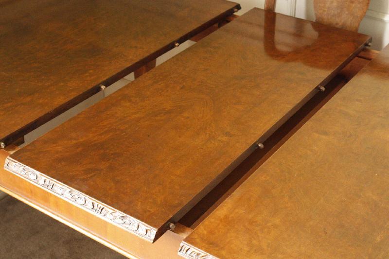 アンティーク ダイニングテーブル伸長式tb32h10