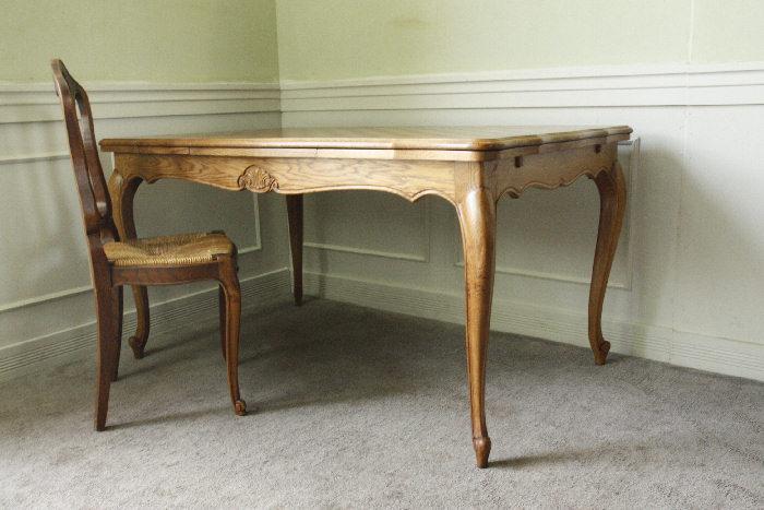 アンティークルイ15世フレンチダイニングテーブルtb32k画像1